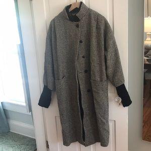 Vintage 100% Wool Overcoat